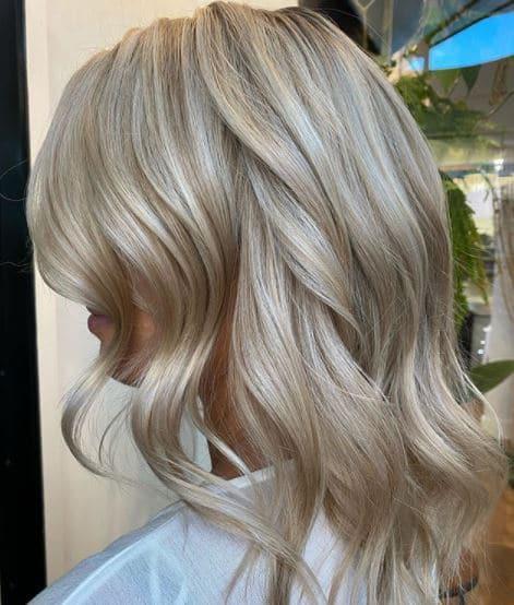 blonde balayage hairdresser paddington