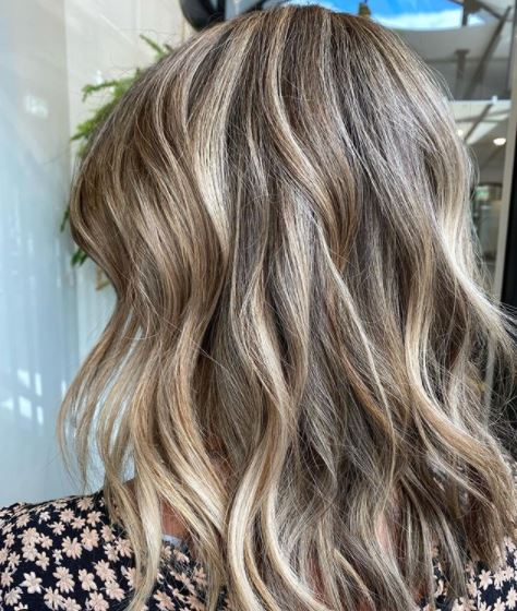 blonde highlights hair salon brisbane