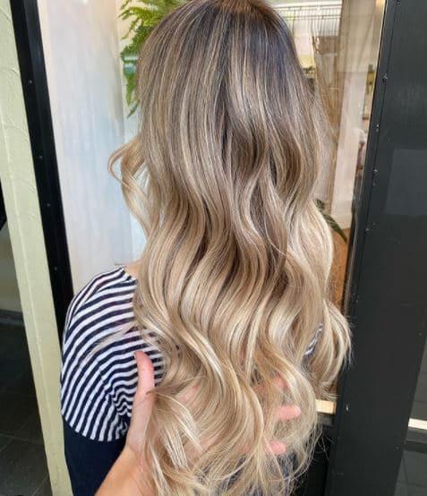 best blonde hairdresser brisbane